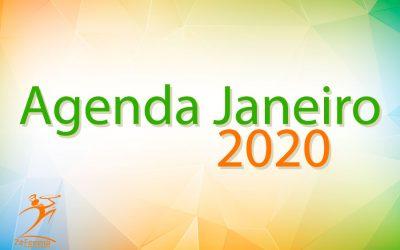 Agenda de Shows Janeiro 2020